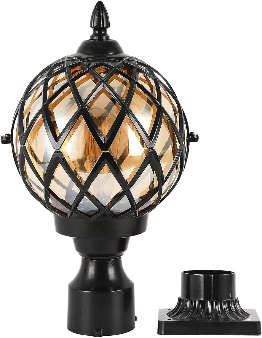 EREBJENH Designer Outdoor Post Light 67% OFF of fixed price Fixture New color 3-Inch Mo with Pier