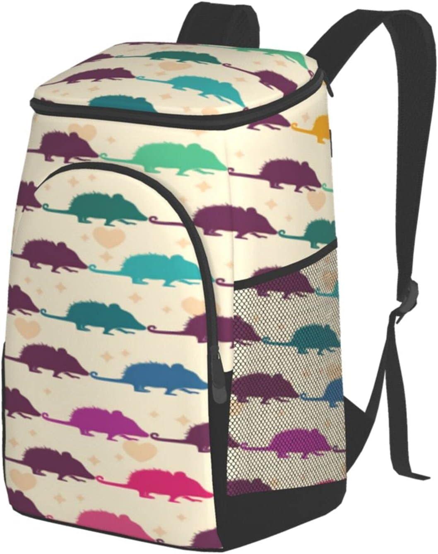 NDAQUC Opossum Pattern Ranking TOP1 Fashionable Game Outdoor Bag Insulation Picn Shoulder