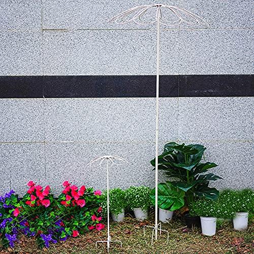 PLHMS Obelisken Rankgitter, Vintage Rankhilfe Garten 2 STK, Rankhilfe für Kletterpflanzen, witterungsbeständige Garten Rankhilfe für Rosen und Blumen, freistehend, Rosen, wetterfest