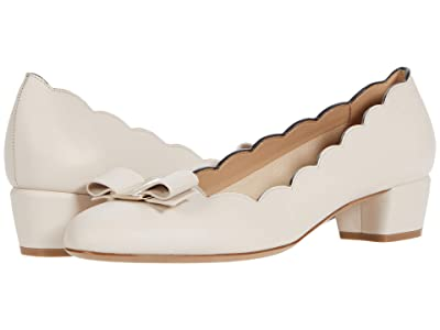 Salvatore Ferragamo Vara Shell (Bone) Women