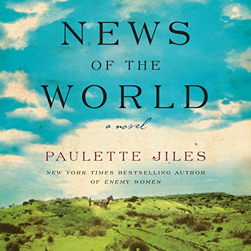 News of the World audiobook cover art