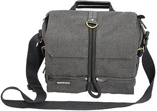 Promate DSLR Camera Bag, SLR Digital Camera Bag Messenger Shoulder Case with Tablet Pocket and Water resistance Cover for ...