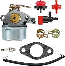 mdairc 640084B Carburetor for Tecumseh 5HP MTD 632107A 632107 640084 640084A For TORO 521 Snow Blower HSSK40 HSSK50 HS50 LH195SA - For Tecumseh 632107 Carburetor LH195SA)