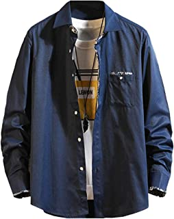 [マノンクローゼット] 6カラー オックスフォードシャツ シャツジャケット カジュアル おしゃれ 秋 メンズ M~2XL
