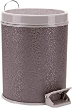 JJZXD Plastic Small Trash Can Wastebasket, Garbage Container Bin for Bathrooms, Powder Rooms, Kitchens, Home Offices, Kids...