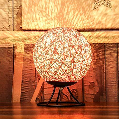 Simple sepak takraw usb luz de noche lámpara de mesa dormitorio junto a la cama romántica decoración del hogar luz de noche A1 15x15 cm