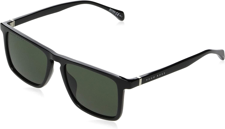 Hugo Boss Limited price sunglasses BOSS-1082-S Max 41% OFF 807QT gree Grey - Black Shiny