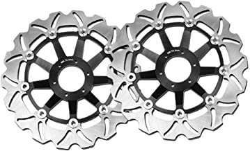 MC MOTOPARTS Front Brake Disc Brake Rotor Disc Disc 2 Pieces For Yamaha FZR 600 R 90-95 90 91 92 93 94