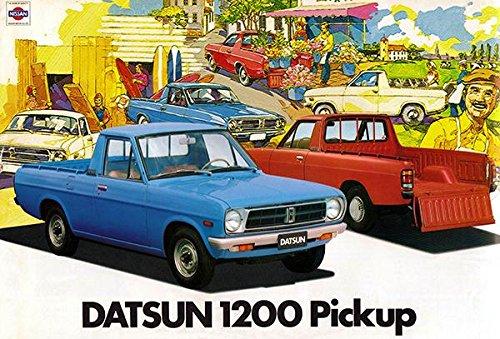 1980 Datsun 1200 Pickup - Promotional Advertising Poster