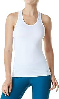 TSLA Racerback Tank Compression Cool Crop Fitness Yoga Slim Fit Top