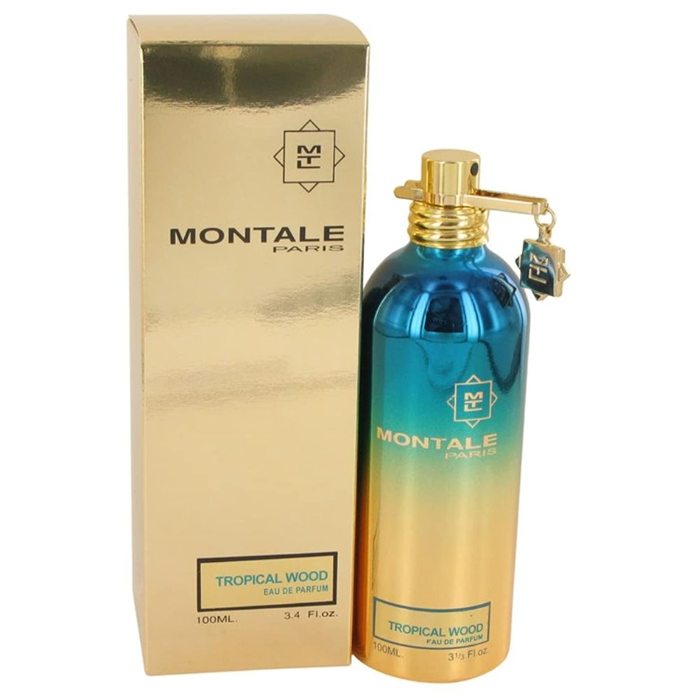 保証金キャラクターペフMontale Tropical Wood 100ml/3.4oz Eau De Parfum Spray Unisex Perfume Fragrance