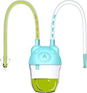 Nasal Aspirator Snotsucker Baby Infant - Hospital Grade Booger Remover, Hygienic & Safe, BPA Free, Easy to Use Green