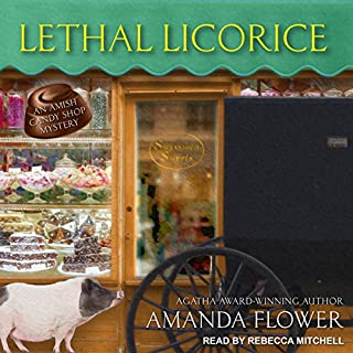 Lethal Licorice audiobook cover art