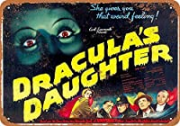 ブリキ看板1936ドラキュラの娘2収集壁アート