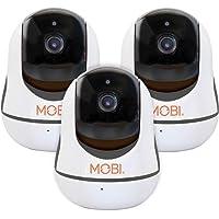 3-Pack MobiCam HDX 720p Smart WiFi Pan-and-Tilt Camera