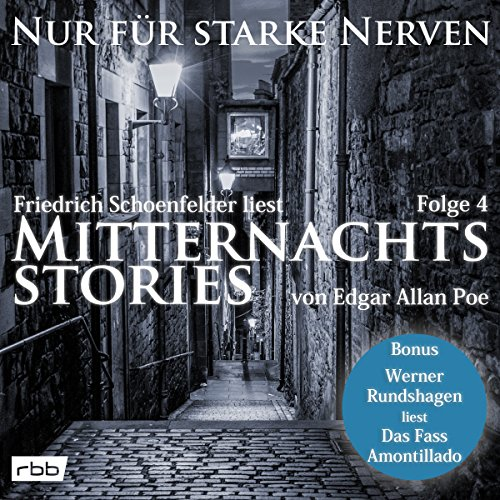 Mitternachtsstories von Edgar Allan Poe (Nur für starke Nerven 4) Titelbild