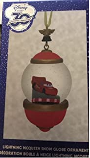 30th Anniversary Snow globe Ornament Subscription Cars 2 3 Lightning McQueen June 2017