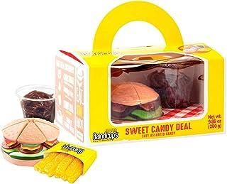 CHUPA CHUPS sweet candy meal caja hamburguesa con patatas y