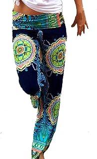 CBTLVSN Womens Thigh Split Bell Bottom Clubwear Summer Romper Leopard Printed Playsuits