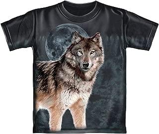 wolf tie dye shirt