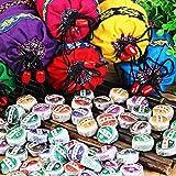 Küchenutensilien Motivbackformen Reisbällchenform 50Pcs Pu'Er Tea 8 Different Flavors Mini Yunnan Pu-Erh Tea Chinese Pu-Erh Tea Chai With Gift Bag,50Pcs Puer Tea
