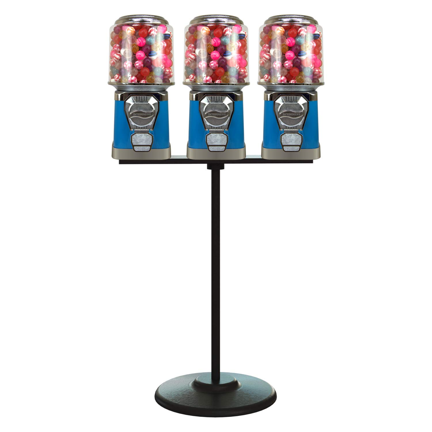 Gumball Ranking TOP5 Machine with Stand - 3 Regular discount w Machines Blue and Vending