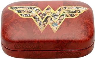 Porta Lentes Contato Mulher Maravilha Movie Logo With Comics Urban Vermelho