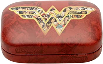 Porta Lentes Contato Mulher Maravilha Movie Logo With Comics