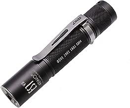 XENO Waterproof Mini Military Standard Cree LED Flashlight ES1 with AA battery1 - WW (Warm White)