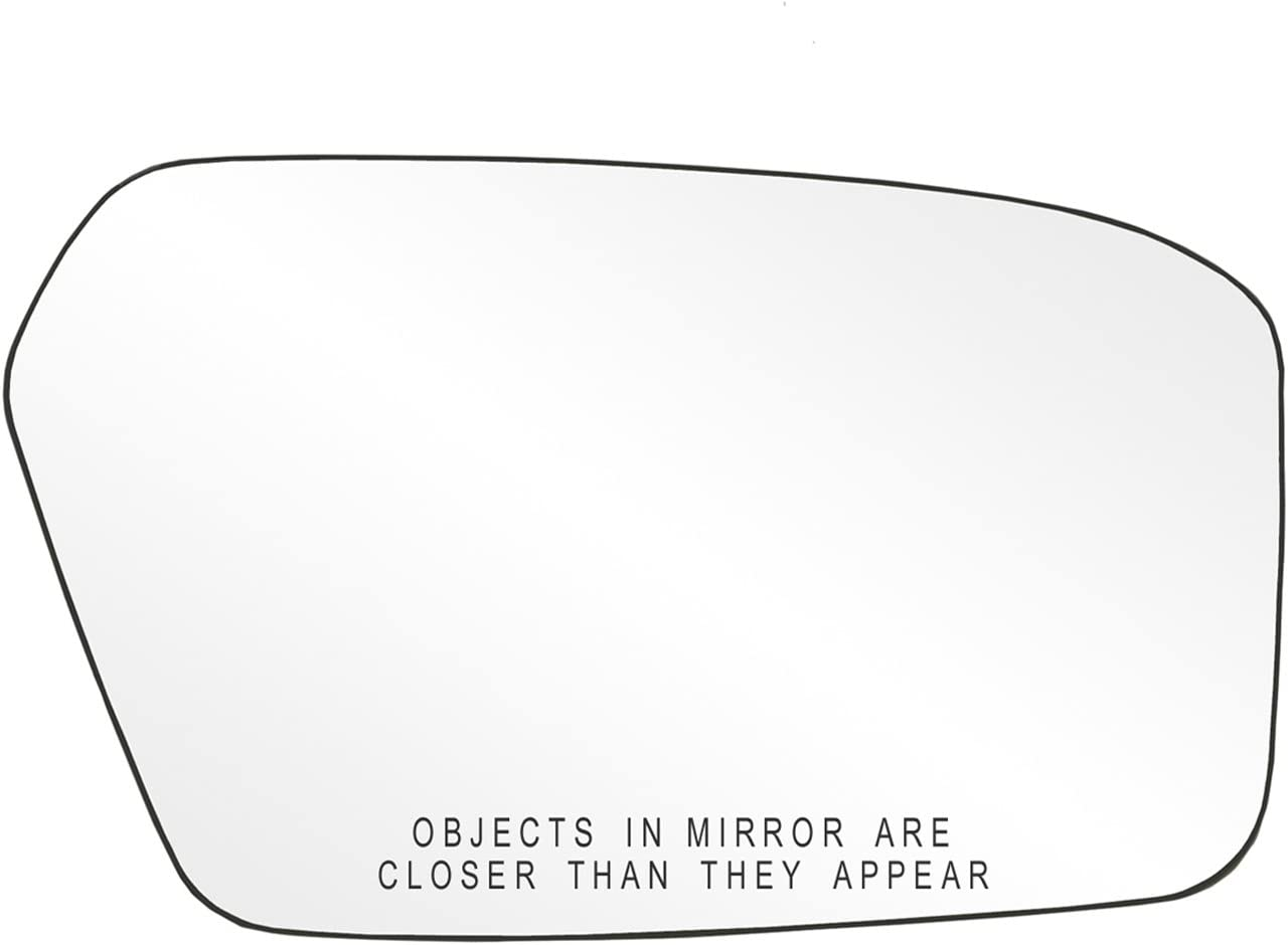 New popularity Fit System 80207 Passenger Over item handling ☆ Side Mirror Backin w Glass Non-Heated