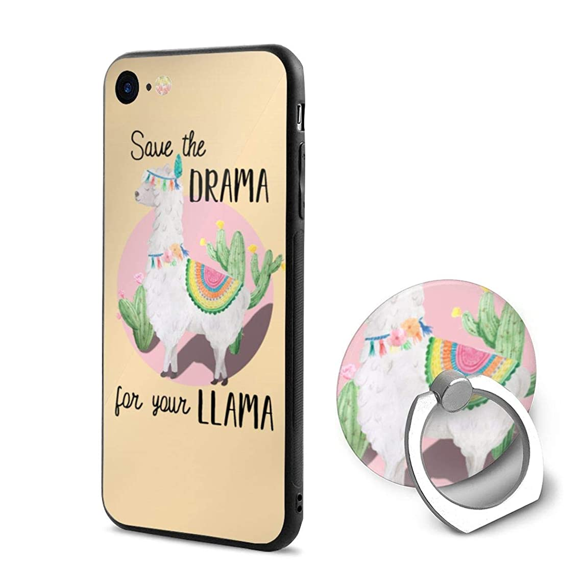 Save The Drama for Your Llama PC iPhone 6/iPhone 6s Phone Case Protective 3D Slim Back Cover 4.7 Inch Ultra Thin & Light Soft Touch Feeling Flexible Anti-Scratch for iPhone 6/6s