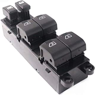 Premium Window Switch Fit for 2005-2006 Infiniti G35 Master Power Window Switch OE:25401-AC700 25401AC700 Power Control Switch Comes with a Removal Tool