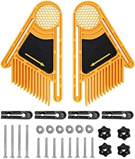houtbewerkingsgereedschap 2st DIY Feather Boards Electric cirkelsåg Bench Sågar Double Multi-purpose Gravyr Machine Wood a...