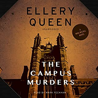 The Campus Murders audiobook cover art