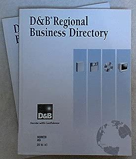 D & B Regional Business Directory: Washington Area 2010 (Volumes 1 & 2)