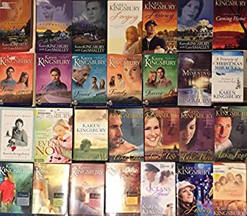 Karen Kingsbury Baxter Family Series and Other Novels Collection 22 Book Set