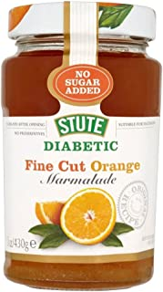 Stute No Added Sugar Diabetic Fine Cut Marmalade (430g) - Pack of 2