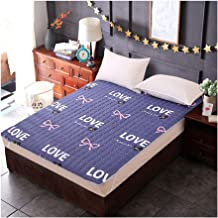 Tatami Mattress, Japanese Futon Mattress, Comfort Portable Mattress Student Dormitory Folding Mattress Sleeping Pad Soft T...