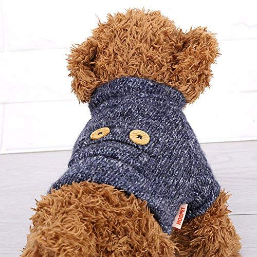 Huisdier Hond Kleding, Huisdier Hond Warm Zacht Pluche Kleding Puppy Winter Sweater Kleding Jas Kostuum M