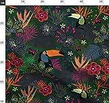 Flora, Fauna, Tier, Leopard, Dschungel, Schmetterling,