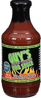 Guy's Award Winning Sugar Free BBQ Sauce, Smokey Garlic, 18 Oz