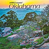 Oklahoma Wild & Scenic 2021 7 x 7 Inch Monthly Mini Wall Calendar, USA United States of America Southwest State Nature