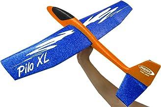 JAMARA 460485 - schuimvliegtuig 2-in-1 - Pilo XL - super licht (160 g), bijna onverwoestbaar, hooggeleiders voor looping o...