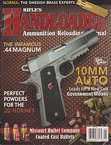 Rifle's Handloader Magazine June 2018