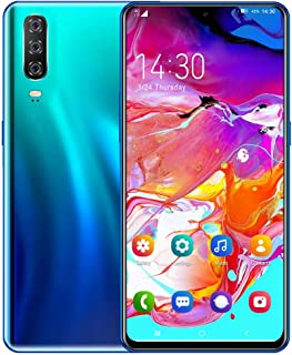 Mobile Phone, A70 3G Smartphones, Android 9.0 Dual SIM Free Smartphones Unlocked, 3800mAh Big Battery, 6.3 inches Waterdro...