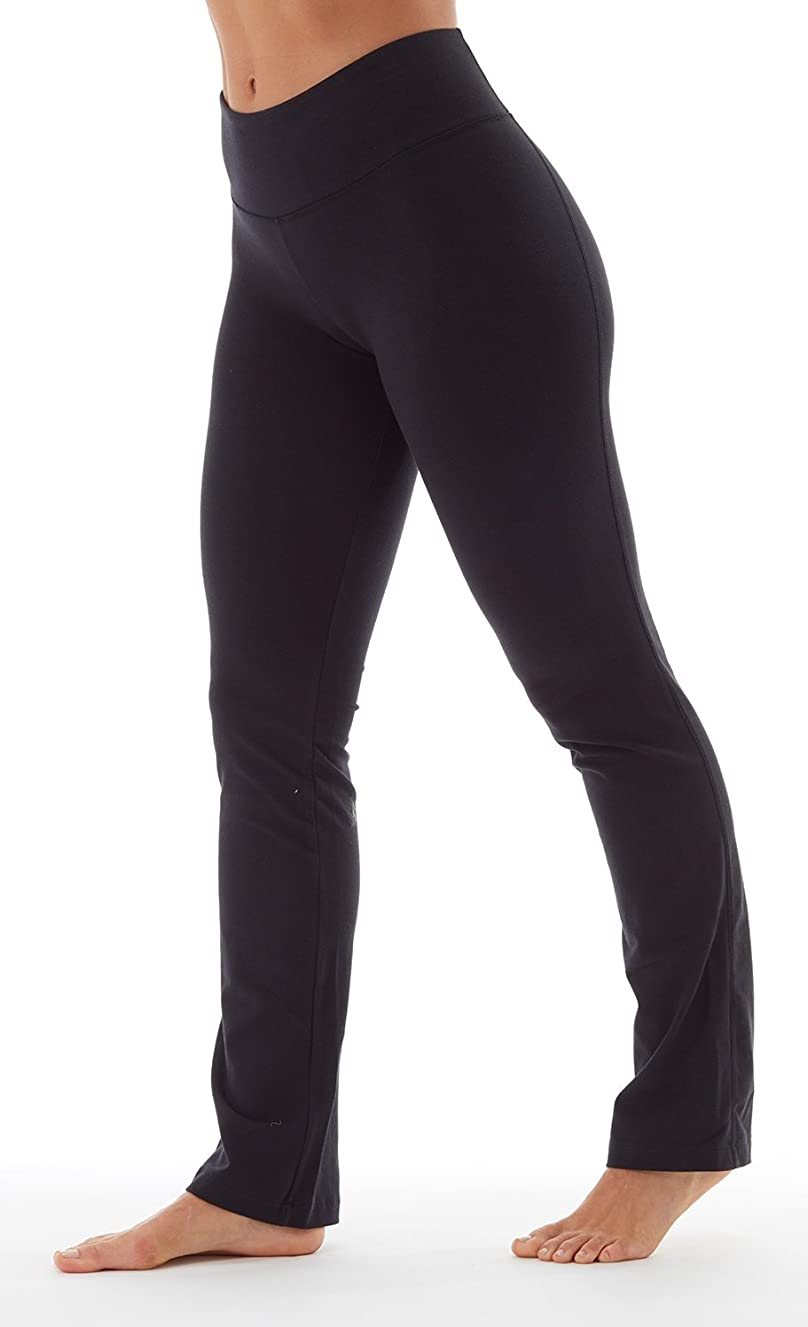 Bally Total Fitness Womens High Rise Tummy Control Pant