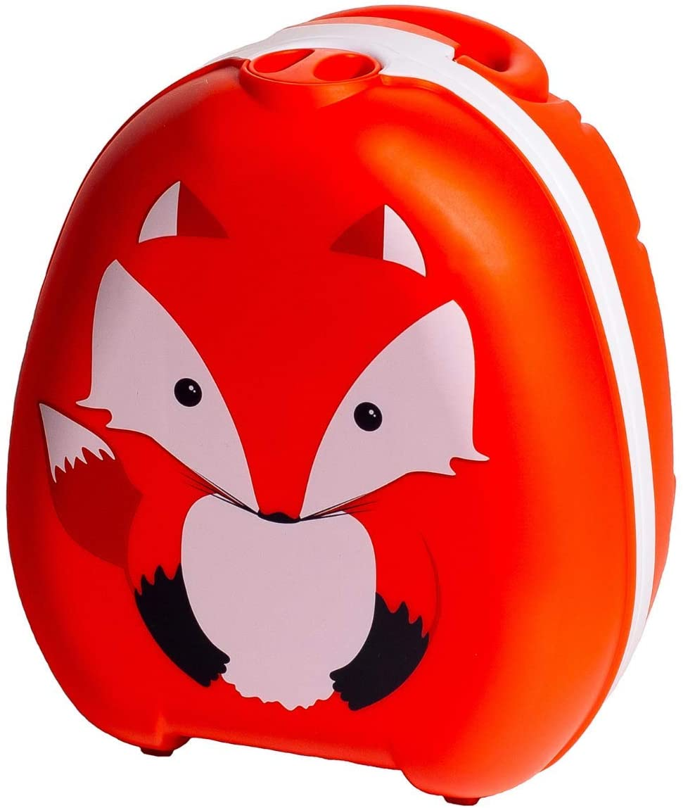 My Carry Potty - Fox Travel Potty, Award-Winning Portable Toddler Toilet Seat for Kids to Take Everywhere