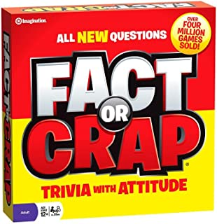 Imagination Fact Or Crap Board Game