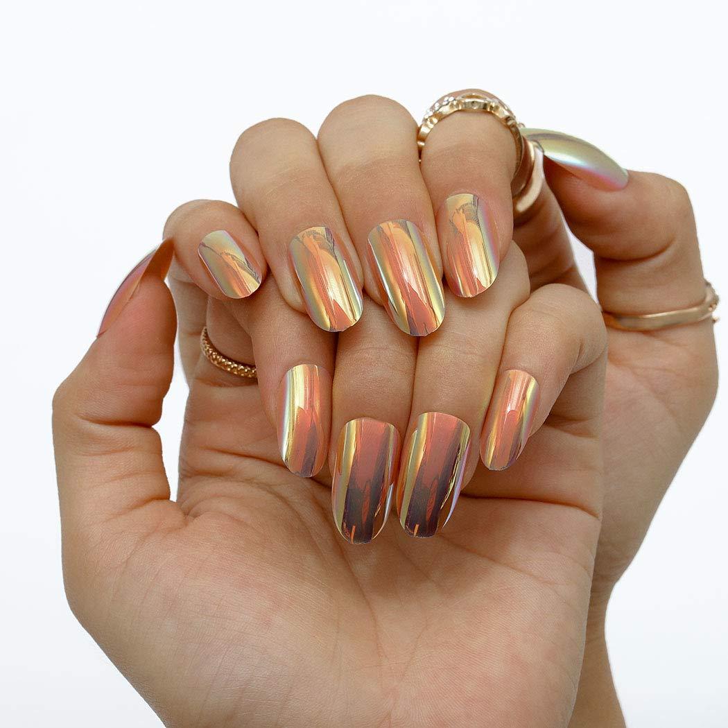 Ibliss Ballerina Press on Nails Long Mirror Finally popular brand 1 year warranty Full Cover Nail Fake