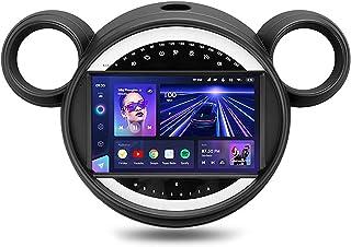 DLL Android 10 Rádio do carro Nav por satélite para BMW Mini 2010-2016 Estéreo para carro com tela sensível ao toque de 9 ...